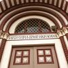 Santa Maria School - 1 (booboo_babies) Tags: highschool california santamaria school oldschool architecture sign building doors