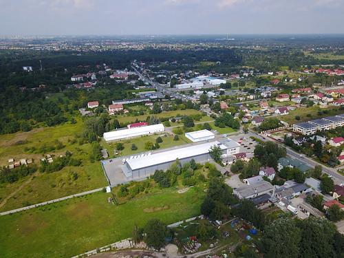 Widok na północ z ulicy Sitowie (25.08.2017)