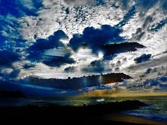 Confusión. (Poldarkk) Tags: confusion sea sky cielo mar anglet arte art soul naked alma desnuda crear summer