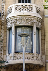 Street lamp, the Eixample, Barcelona