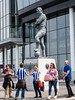 SWFC v Hull City FC Wembley 2016 (Cerdic Elesing) Tags: sculpture kodakektar bobbymoore england wembley hullcityfc greaterlondon footballclub football swfc statue legend unitedkingdom gb