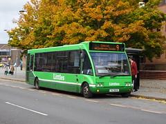 Littles YAZ8645 Derby (Guy Arab UF) Tags: littles travel yaz8645 optare solo m920 bus morledge derby derbyshire independent buses nottingham city transport 134 yj51xsu