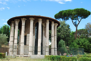 The Herculean temple at Forum Boarium