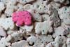 Animal cookies (lenswrangler) Tags: lenswrangler digikam cookie animal frosted mothers indulgentpleasures flickrfriday food pink white