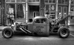 Out Towing (Tim @ Photovisions) Tags: missouri tow towtruck rat ratrod rust truck