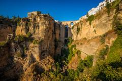 Ronda Spain (franciscobarongarcia) Tags: ronda spain spanien andalusia andalusien gebirge landscape wasser water aqua puente pa paisaje campo rio fluss beige grün ausblick skyline mirador