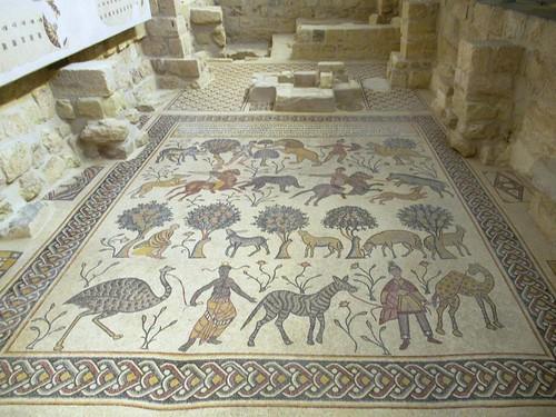 Diakonikon Baptistery Mosaic
