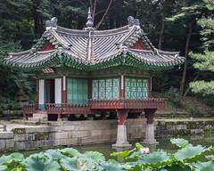 Garden Pavilion (Oleg S .) Tags: pond pavilion architecture seoul water flickr southkorea