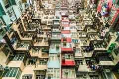Traditional Living - Hongkong 51/188 (*Capture the Moment*) Tags: 2017 balconies balkone courtyard flats fotowalk hongkong houses innenhof sonya7m2 sonya7mii sonya7mark2 sonya7ii sonyfe2470mmf4zaoss sonyilce7m2 wohnungen urbanliving
