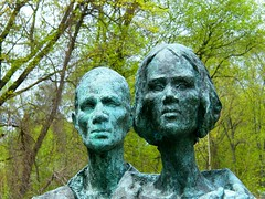 Great Hunger Memorial (Stanley Zimny (Thank You for 25 Million views)) Tags: art greathungermemorial ve macy park irish memorial faces