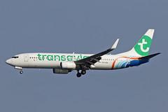 B737-8KN PH-HSR TRANSAVIA ex Fly Dubai (shanairpic) Tags: jetairliner b737 boeing737 flydubai lanzarote arrecife transavia phhsr