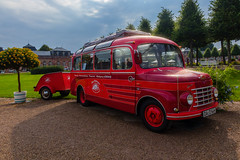 Travels in the 50s (FocusPocus Photography) Tags: bus fiat menarinibreda oldtimer classiccar fahrzeug vehicle transport classicgala schwetzingen concoursdelegance