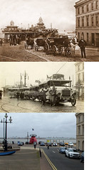 Victoria Parade, New Brighton, 1880, 1920 and 2017 (Keithjones84) Tags: birkenhead wallasey merseyside wirral thenandnow rephotography newbrighton