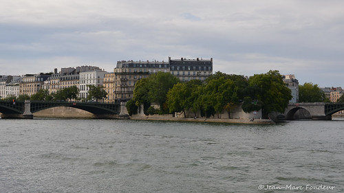 Paris : la pointe de l'île Saint-louis