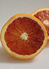 2017 Sydney: Blood Orange (dominotic) Tags: 2017 food fruit bloodorange citrusfruit orange stilllife whitebackground sydney australia
