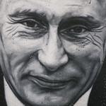 Vladimir Vladimirovich Putin, painted portrait _1100395 thumbnail