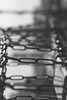 the stress and the tension (Super G) Tags: sony008 bw blackandwhite bokeh chains steel tension lull 2017