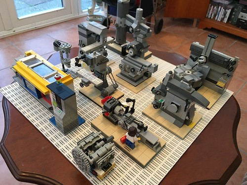 My Lego machine shop