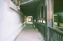 (jesseletford) Tags: tunnel toronto park dale summer 2017 ontario canada film filmphotography canonsureshot canon shadow rust