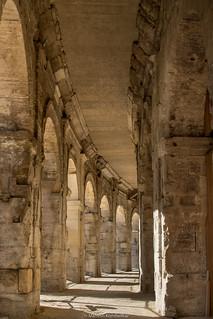 Arles Arena Amphitheater Arches (Explored)