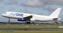 EK32008 A320 FlyOne (Anhedral) Tags: ek32008 airbusindustrie a320200 flyoneaero landing fwi