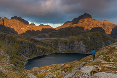 'Morning Light At Munkebu' - Lofoten, Norway