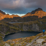'Morning Light At Munkebu' - Lofoten, Norway thumbnail