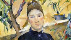 Cézanne, Madame Cézanne (detail), 1891