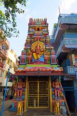 Bengaluru Street Temple (EVO GT) Tags: canon canonpowershotg5x canong5x bengaluru streetart colours colourpop india bangalore oldairportroad