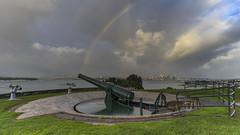 _DSC4115 (gaabNZ) Tags: auckland northhead devonport sunrise rainbow colour newzealand sonya7mkii zeissbatis18mm