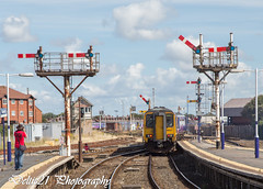 20170813-IMG_3346 (deltic21) Tags: blackpool station semaphore signals signal signalbox seaside northwest lancashire canon tower unit northern dmu bygone renovation rail railway railways british br