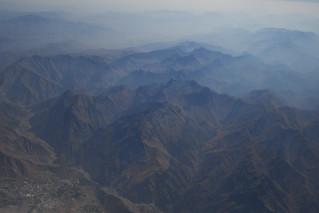 Mountains on approach to Sulaymaniyah, Iraqi Kurdistan
