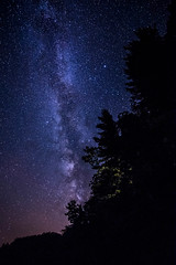 Under the Milky Way (Margo Dolan) Tags: milkyway astrophotography stars wisconsin northwoods high iso forest longlake canon 6d wideangle longexposure threelakes