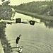 Boy diving into C&O Canal ca1914