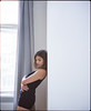 * (*Sante) Tags: woman body film 6x7 mediumformat 120 plaubel makina cinestill800t color c41 availablelight