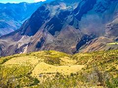 A look down at the valleys below as we head toward Cajatambo.