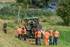 18082017-1398 (Sander Smit / Smit Fotografie) Tags: trekker ongeluk tractor n33 appingedam