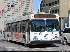 Winnipeg Transit #260 (vb5215's Transportation Gallery) Tags: winnipeg transit 2005 new flyer d40lf
