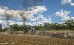 Plowing at Mason, Michigan (David Clippinger) Tags: mason tractorshows casesteamengine plowing steamshow steam steamengine steamploughing steamplowing masonmichigan michigansteamenginethreshersclub