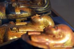 Tiny gilded coffin (konde) Tags: 18thdynasty tutankhamun kv62 thebes valleyofthekings coffin gilded foetus mummycoffin ancient treasure newkingdom miniature cairomuseum