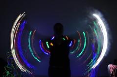 wings (medeirosisabel16) Tags: abstract longa exposição luz light long exposure colors cores anjo angel asas wing school etec guaratingueta comunicação visual