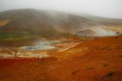 Seltun hot springs Krysuvik Iceland. (Eddie Crutchley) Tags: cruise2017norwayicelandireland europe iceland outdoor nature beauty hotspring mist seltunhotsprings yabbadabbadoo wonderful simplysuperb
