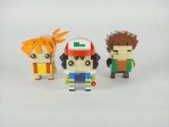 Best Trio (YOS Bricks) Tags: pokémon misty kasumi ash satoshi brock takeshi lego brickheadz
