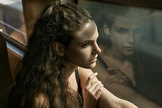 simple portrait of Madeline M.