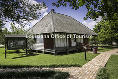 OpelousasLeVieuxVillage (1) WM (Louisiana Tourism Photo Database) Tags: africanamerican creole southernunitedstates southernculture architecture bousillagestyle creolehouse culture historicsite history home museum recreation tourism travel