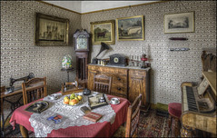Lincoln Living Room (Darwinsgift) Tags: lincoln museum lincolnshire life interior hdr photomatix nikkor 19mm f4 pc e tilt shift tiltshift nikon d810