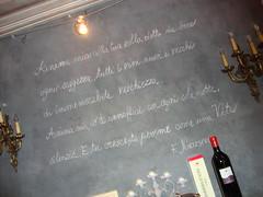 Nietzsche che dice? Boh (ba.sa74) Tags: estate vino vini piemontemeridionale bottiglia luce lavagna nero assaggi locali film interni nietzsche passato tempo langhe