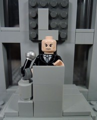 Lexcorp (MrKjito) Tags: lego minifig dc comics comic lex luthor lexcorp building speech villain hero company rebirth