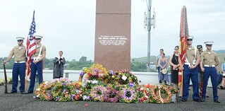 Commemoration ceremonies for 75th Anniversary of Guadalcanal