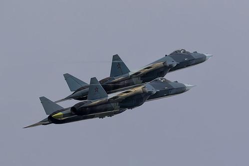 Sukhoi T-50 (Su-57) - 3